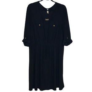 PerSeption Women Black Dress sz 2X